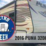Retro Week: 2016 Puma 32DBKS